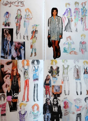 Fashion Sketches No 1