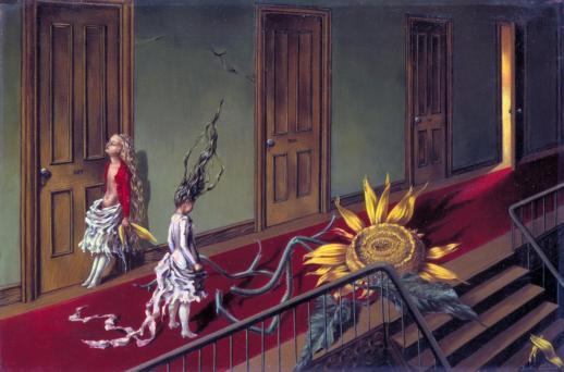 Eine Kleine Nachtmusik 1943 by Dorothea Tanning 1910-2012